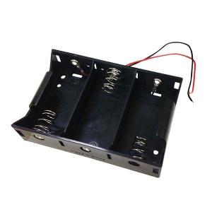 オーム電機 KIT-UM13 工作・ホビー用 電池ケース(単1×3個用) (KITUM13)|lifeis