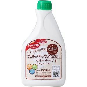 アイメディア 4989409075160 洗浄とワックス効果のクリーナー つけかえ用 500ml 1007516|lifeis