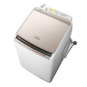 日立 BW-DV80E-N 洗濯8.0kg/乾燥4.5kg 『ビートウォッシュ』 タテ型洗濯乾燥機 (シャンパン) (BWDV80EN)|lifeis