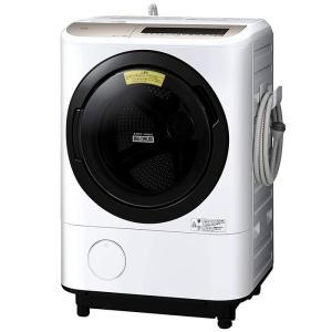 日立 BD-NV120EL-W 洗濯12.0kg 乾燥6.0kg ドラム式洗濯乾燥機 左開き ホワイト (BDNV120ELW)|lifeis