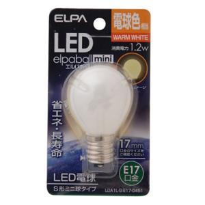 ELPA 4901087191147 「S型ミニLED口金E17電球色」|lifeis