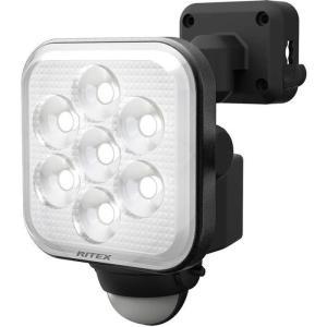 ムサシ LED-AC1011 MUSASHI RITEX フリーアーム式 LED センサーライト コンセント式 11W×1灯 (LEDAC1011)|lifeis