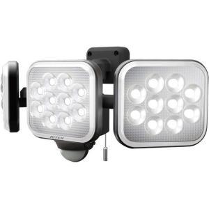 ムサシ LED-AC3042 MUSASHI RITEX フリーアーム式 LED センサーライト コンセント式 14W×3灯 (LEDAC3042)|lifeis