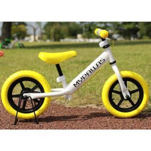 マイパラス MC-01-YE 子供用ランニングバイク ちゃりんこマスター (MC01YE)|lifeis