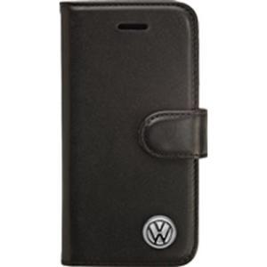 Volkswagen(フォルクスワーゲン) VW14483 【iPhone 6 PLUS】Volkswagen BOOK CASE Leather Black Type|lifeis