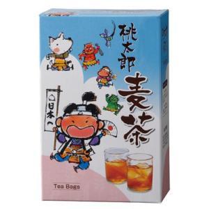 三盛物産 MV-10 【100個セット】桃太郎麦茶 [麦茶パック10g×5個] (MV10)|lifeis