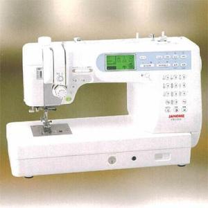 ジャノメ CK1100 【代引きOK!カラー糸に更にボビン&ミシン針をプレゼント!】プロ並みの完成を鮮やかに表現 コンピューターミシン[IM5] lifeis
