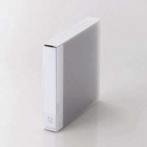 エレコム CCD-FS12BK CD/DVD対応ファイルケース/12枚収納/ブラック (CCDFS12BK) lifeis