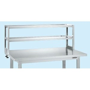 ●天板の上を有効活用。省スペース化が図れます。