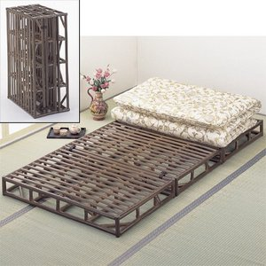今枝商店 Y913B Romantic Rattan ベッド|lifeis