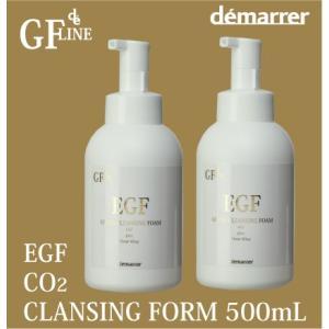 デマレ GF 炭酸洗顔フォーム 業務用 500ml 2本セット EG炭酸洗顔フォーム|lifelabo