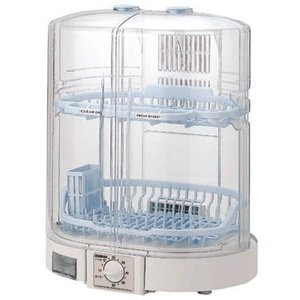 ZOJIRUSHI クリアドライ 食器乾燥器 クリアグレー ...