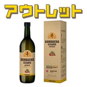 【訳あり】コンブチャクレンズ 720ml ダイエットドリンク 健康茶 ※箱無し未開封品|lifemall
