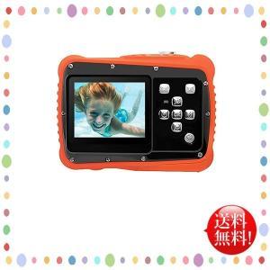 Pellor 子供カメラ トイカメラ キッズカメラ 3m防水機能 12MP画素 耐衝撃性 録画機能 マイク内蔵 日本語説明書 多種言語対応 かわいい