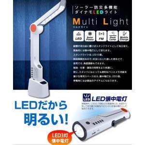 ソーラー充電万能ラジオLEDライト USB多機能懐中電灯 マルチデスクライト 非常用LEDラジオライト 非常灯 停電対策 防犯防災家電 おしゃれ アウトドア peaup|lifemaru