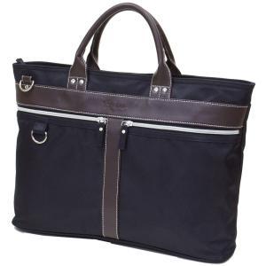 2WAY 軽量メンズビジネスバッグ (手提げ・ショルダーの2WAYスタイル)ブリーフケース A4サイズ対応  bag106 収納 おしゃれ ikomaks|lifemaru