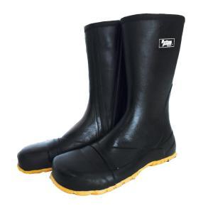 ATOM 防水ゴムタビ ストロング 指付 BP2531 メンズ レインブーツ ブラック 長靴 レインシューズ アウトドア  おしゃれ 紳士靴 kmrif lifemaru