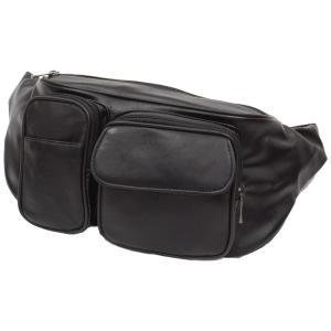 合成皮革×羊皮 ウエストポーチ ウエストバッグ 男女兼用 メンズ レディース  ヒップバッグ bag1100  カジュアル 紳士 かこっいい 収納 おしゃれ ikomaks|lifemaru