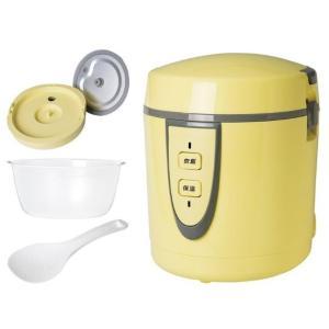 1〜2人用にピッタリな食べきりサイズ! 0.5合〜1.5合まで対応するミニ炊飯器です。 ●内蓋/外蓋...