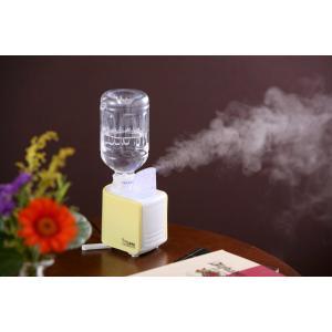 超音波ミスト加湿器・アロマ兼用 アロマミスト加湿器 アロマリラックス健康ペットボトルで大容量 卓上 可愛い 乾燥対策 家電 おしゃれ kureru|lifemaru