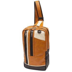 XPORTAシリーズ 合皮ボディーバッグ メンズ 全3色 カジュアル bag132 紳士 コンパクト 収納 おしゃれ ikomaks|lifemaru