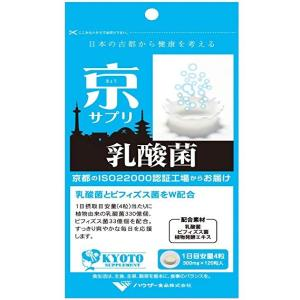 京サプリ 乳酸菌 120粒 乳酸菌とビフィズス菌をW配合! サプリメント ダイエット 美容 健康飲料 ferok|lifemaru