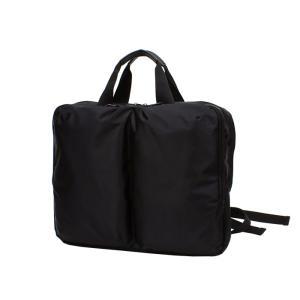 2WAY メンズビジネスバッグ (手提げスタイル、リュックスタイル) マチ拡張タイプ A4サイズ対応 撥水・防水加工 bag174 収納 おしゃれ ikomaks|lifemaru