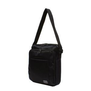 メンズミニショルダーバッグ 縦型 黒 撥水・防水加工 bag177 コンパクト 収納 おしゃれ ikomaks|lifemaru