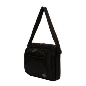 メンズミニショルダーバッグ 横型 黒 撥水・防水加工 bag178 コンパクト 収納 おしゃれ ikomaks|lifemaru