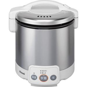 リンナイ リンナイガス炊飯器 RR-050VM(W) LP 簡単操作 キッチン おしゃれ|lifemaru