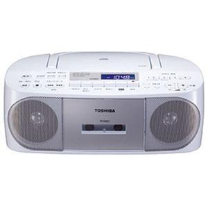 東芝 CDラジオ カセットレコーダー TY-CDS7S  AM/FMラジオ 防犯防災グッズ 緊急 おしゃれ shiragiku  アウトドア|lifemaru