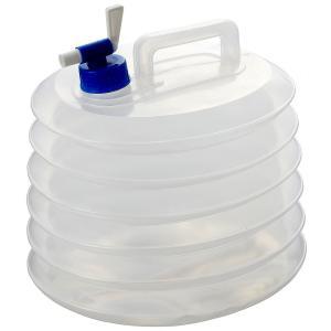 緊急時やアウトドアに役立つ! 貯水用の蛇腹式タンク ●10リットルの雨水や河川の水を貯水でき、手洗い...