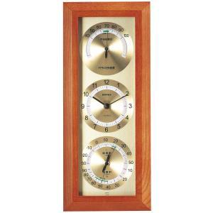 快適モニタ1台4役(不快指数・時計・温度・湿度計付き掛け時計) 壁掛け時計 熱中症対策 683301 ウォールクロック 北欧 アメリカン かわいい おしゃれ|lifemaru