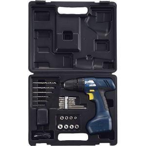 7.2V 充電式ドリル&ドライバーセット C-72 充電式 電動ドライバーセット コードレス  電動工具 大工 DIY  アウトドア 707073-R02|lifemaru