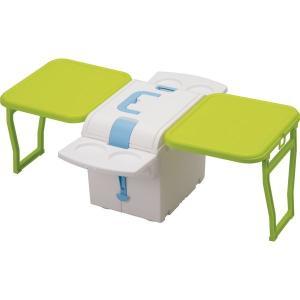 ウイングキャリーキューブ PFW-31 テーブル付きクーラーボックス 折りたたみ アウトドア テーブ...