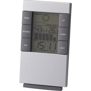 ウェザーインフォクロック 6115 デジタル多機能時計 置き時計 置時計 おしゃれ 北欧 ギフト アメリカン雑貨 かわいい 卓上 インテリア時計 srgku|lifemaru