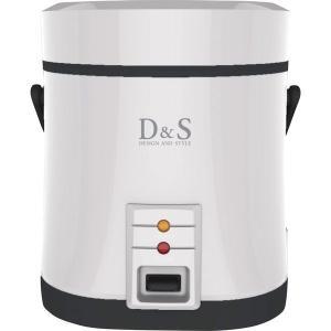 炊飯器 D&S ミニライスクッカー DS.7703 1.5合炊き 簡単操作  早炊き キッチン家電 おしゃれ 新生活 一人暮らし srgku|lifemaru