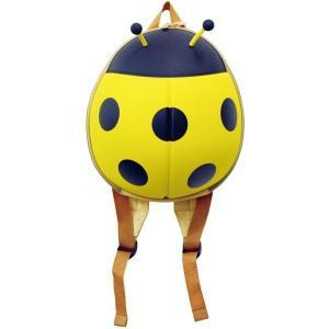 レディバグ てんとうむし バックパック 黄/赤 全2色 子供向け おもちゃ かわいい 男の子 女の子リュックサック bag コンパクト カジュアル 収納 おしゃれ 旅行|lifemaru