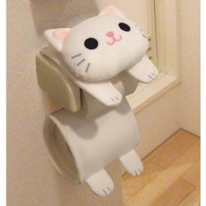 ネコのロールペーパーホルダー トイレ用ペーパーホルダー 243 猫 ねこ キャット ロールカバー ロールペーパー トイレット 北欧 生活雑貨|lifemaru