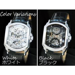 時計 腕時計 メンズ時計 メンズ メンズ腕時計 スケルトン 自動巻き