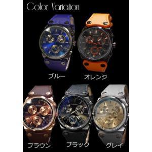 時計 メンズ オリジナルブランド 黒