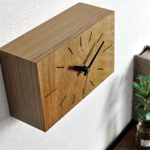 カワイイ 置き時計 置時計 掛け時計 壁掛け時計 ナガテンクロック Sタイプ 木製時計 小さい かわいい 木の時計 贈り物 開店祝い 開業祝い 友達|lifeplus