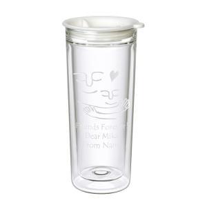 名入れ プレゼント ダブルウォール デスクトップタンブラー グラス