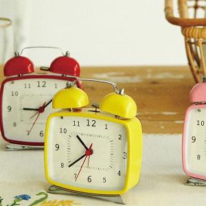 目覚まし時計 置き時計 置時計 9色 SINO lifeplus