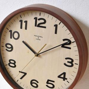 おしゃれ 電波時計 木製  壁掛け時計 DARYL オシャレ 新築祝い 贈り物 デザイン時計 木製フレーム モダン|lifeplus