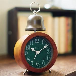 目覚まし時計 木製 目覚し時計 置時計 BIOT lifeplus