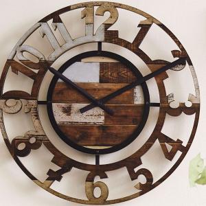 おしゃれ 掛け時計 レトロ 壁掛け時計 時計 BERCY カッコイイ オシャレ お洒落 カフェインテリア|lifeplus