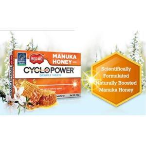 マヌカハニー CYCLO POWER(サイクロパワー) チュアブルタブレット1.5g×16粒  lifeplussky22
