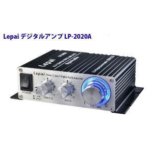 デジタルアンプ Tripath 12V3Aアダプター付属 ブラック Lepy TA2020-020 LP-LP-2020A