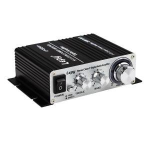 デジタルアンプ ブラック TA2024搭載 Tripath LP-2024A+ 汎用小型アンプ LP-LP2024A